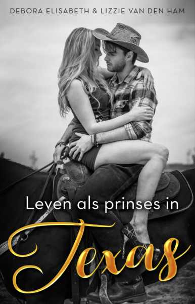 leven als prinses in Texas paperback copy